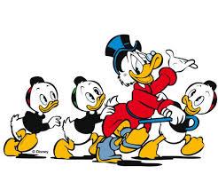 Donald Duck mit Tick, Trick und Track